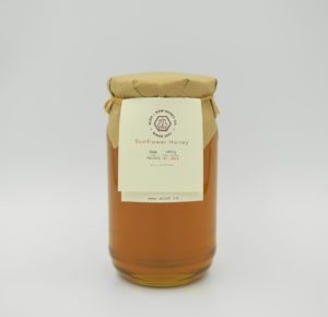Raw Sunflower Honey 1kg by Miod-Raw Honey Co