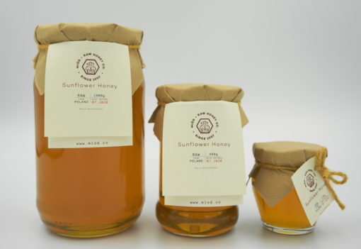 Raw Sunflower Honey by Miod-Raw Honey Co