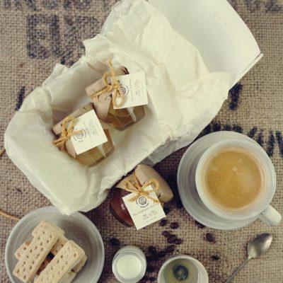 Raw Honey coffee set