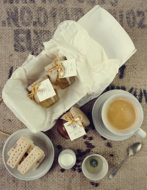 Raw Honey coffee set