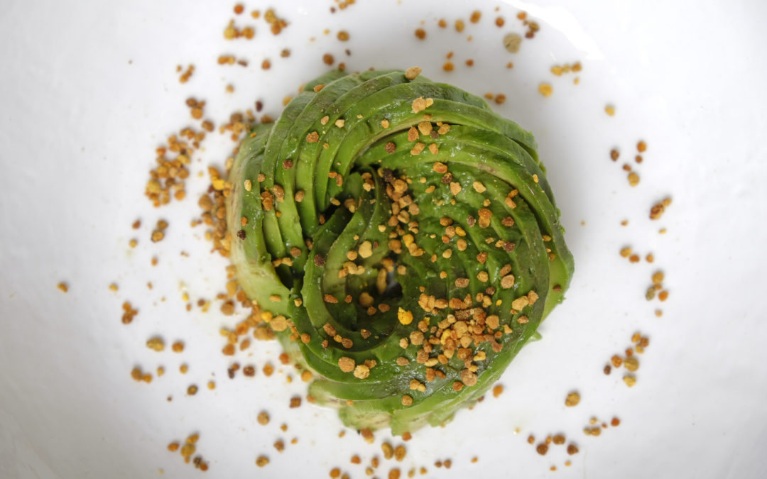 Avocado, Bee Pollen and Acacia Honey Ultimate sandwich