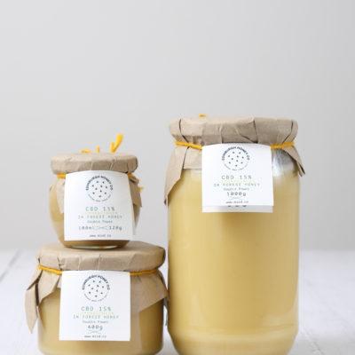 CBD, Lemon and Ginger infused Forest Honey