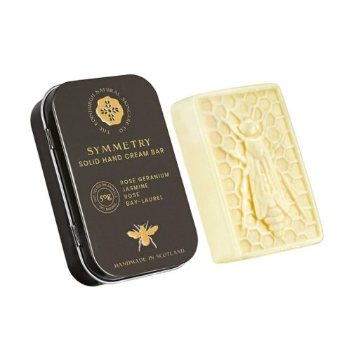 Solid Hand Cream Bar With Luxury Reusable Tin 50g