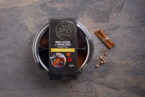 African and Middle Eastern Spice Tin